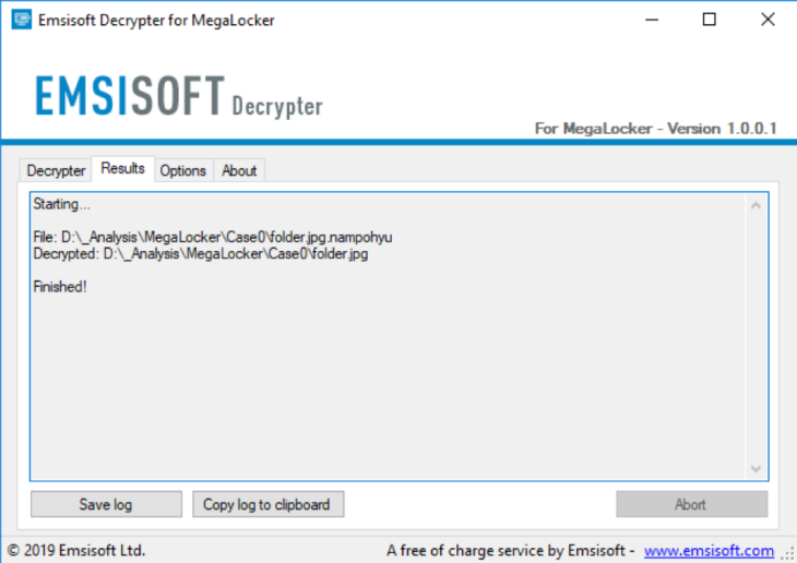 MegaLocker Ransomware Decrypted