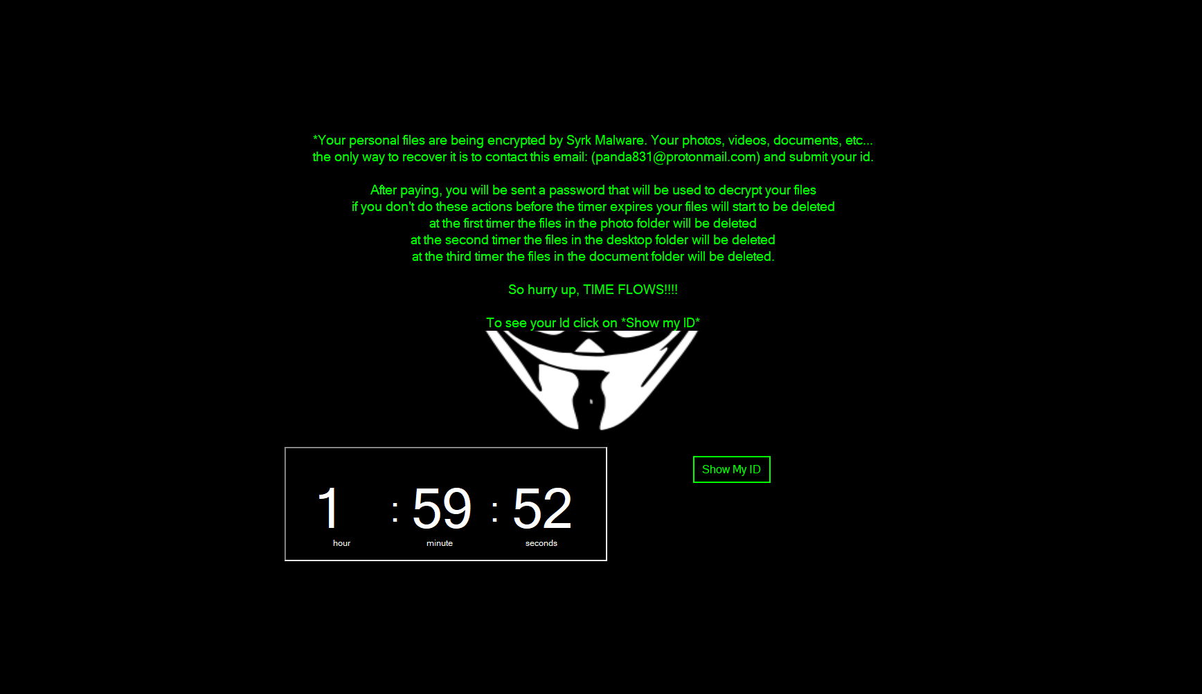 Emsisoft releases a free decryptor for the Syrk ransomware