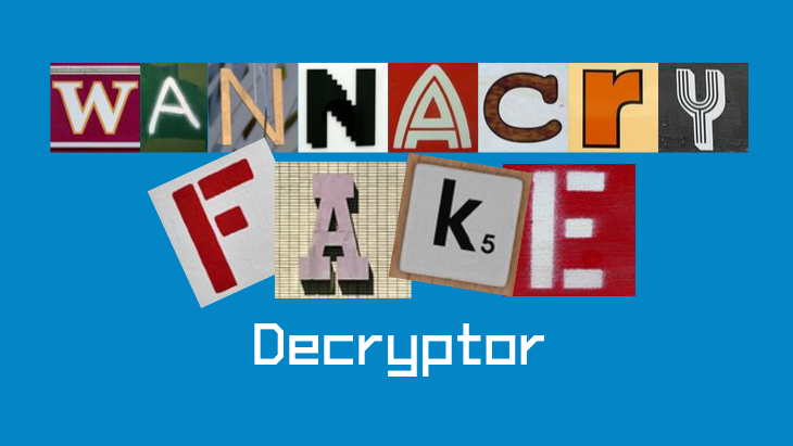 WannaCryFake Decryptor