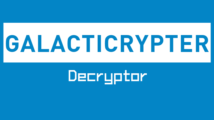 GalactiCrypter Decryptor