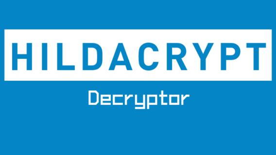 HildaCrypt Decryptor