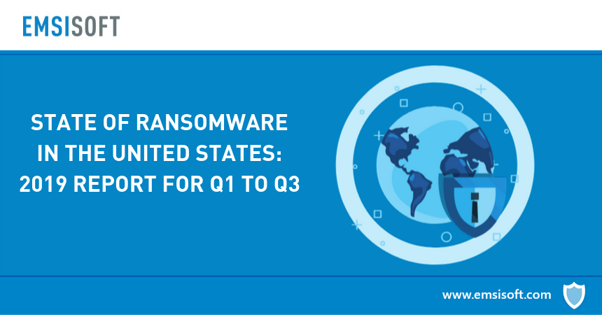 State of Ransomware in the U.S.: 2019 Report for Q1 to Q3   Emsisoft   Security Blog