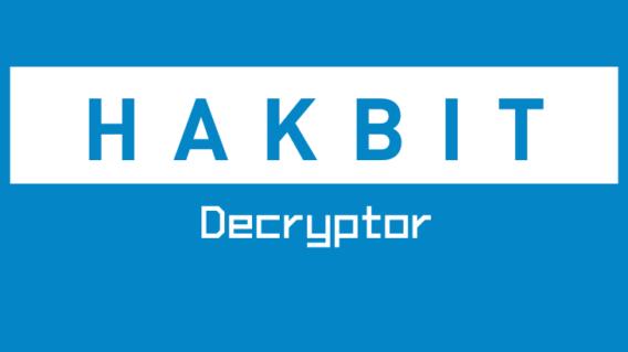 Hakbit Decryptor