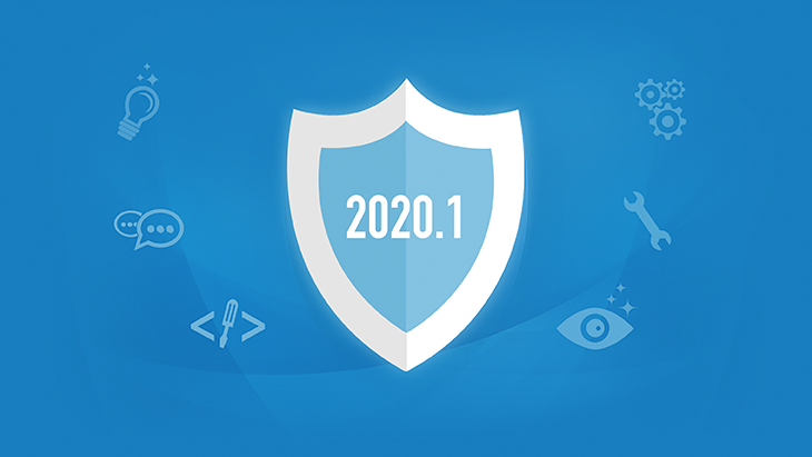 New in 2020.1: Improved usability & authentication support