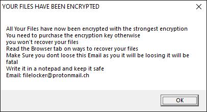 ChernoLocker's ransom note