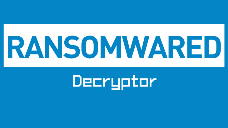 Ransomwared Decryptor by Emsisoft