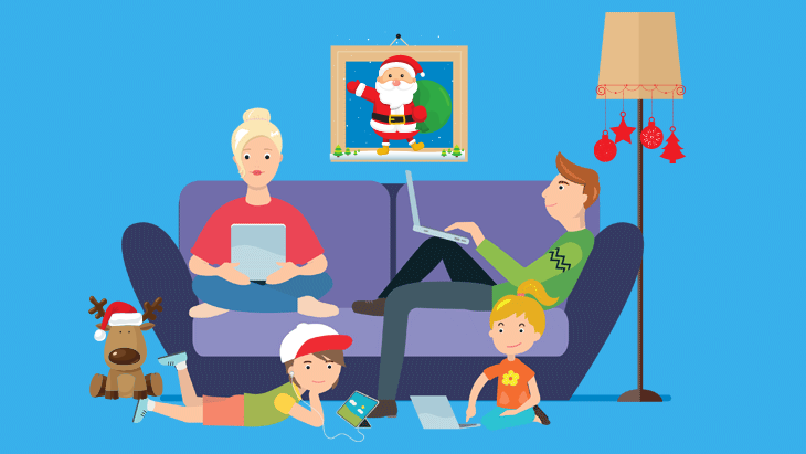 Four ways to stay safe online during the holiday season